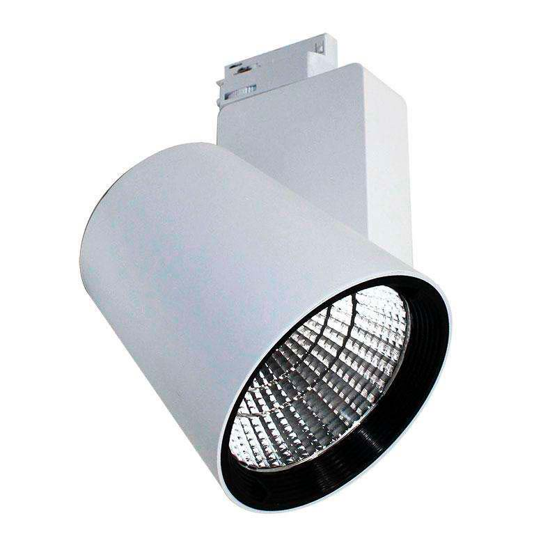 Foco carril KRON RAIL LED BridgeLux 50W, Blanco frío